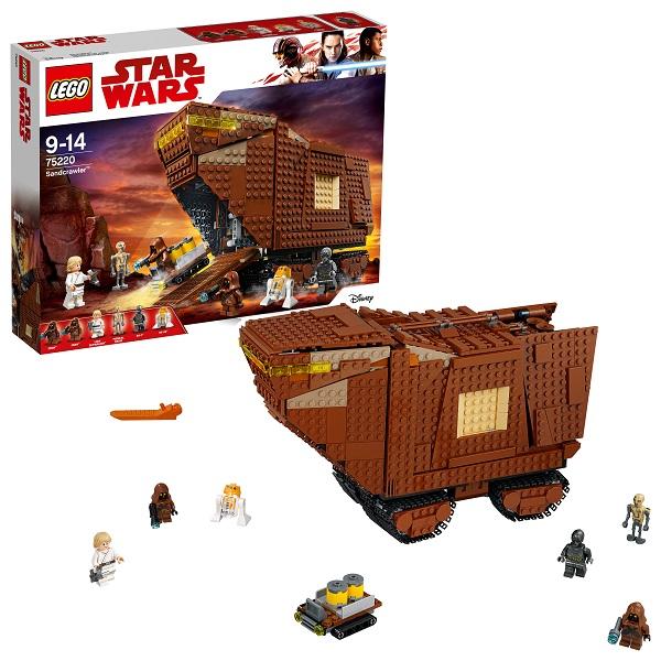 Lego Star Wars 75220 Конструктор Лего Звездные Войны Песчаный краулер, арт:154819 - Звездные войны, Конструкторы LEGO