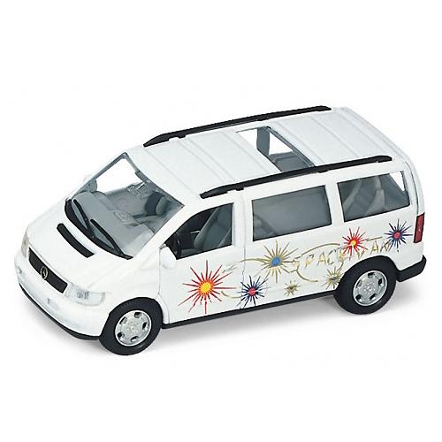 Купить Welly 49736 Велли Модель машины 1:34-39 MB V-CLASS, Машинка инерционная Welly