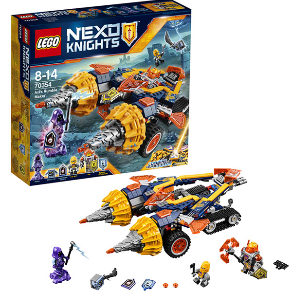 Lego Nexo Knights 70354 Конструктор Лего Нексо Бур-машина Акселя, арт:148580 - LEGO, Конструкторы для мальчиков и девочек