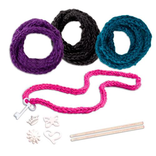 Купить Knits Cool 15801 Нитс Кул Набор для вязания ободка и браслетов, Игровой набор Knits Cool