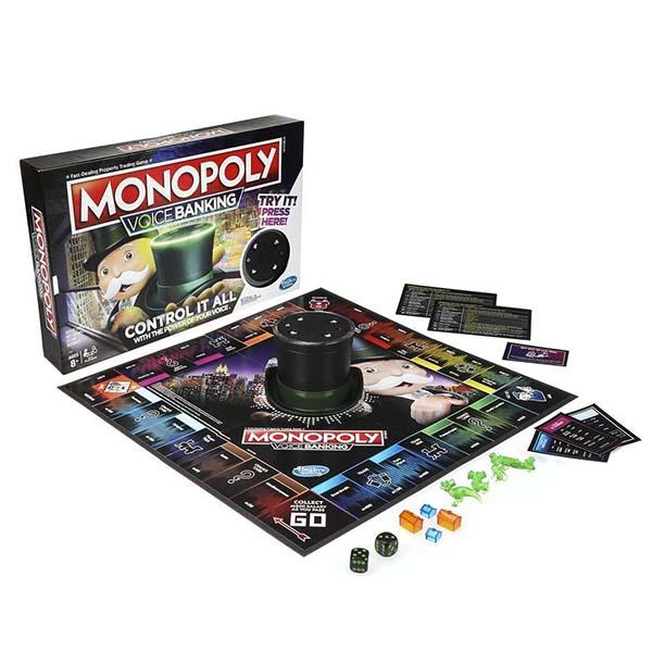 Настольные игры Hasbro Monopoly Hasbro Monopoly E4816 Настольная игра Монополия ГОЛОСОВОЕ УПРАВЛЕНИЕ по цене 3 499