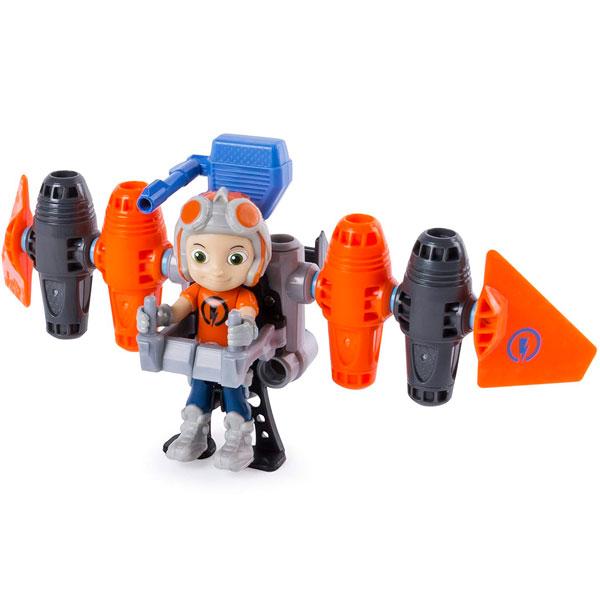 Игровые наборы и фигурки для детей Rusty Rivets 28106-JET Строительный набор большой с фигуркой героя Jetpack фото
