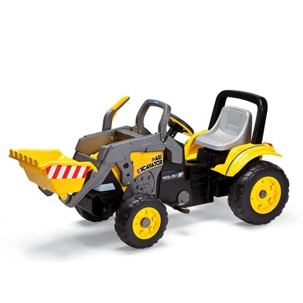 Детский автомобиль Peg-Perego D0552 Excavator, арт:40314 - Велосипеды, авто с механическим приводом , Электромобили