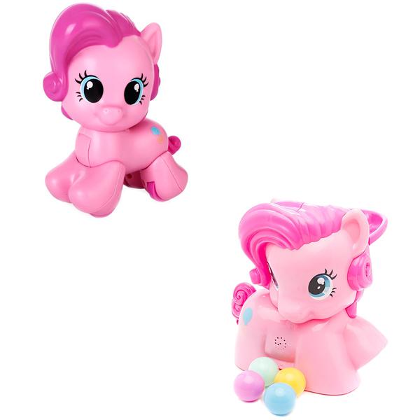 Hasbro Playskool B1647N Пинки Пай с мячиками + Моя первая пони - Любимые герои, артикул:151462
