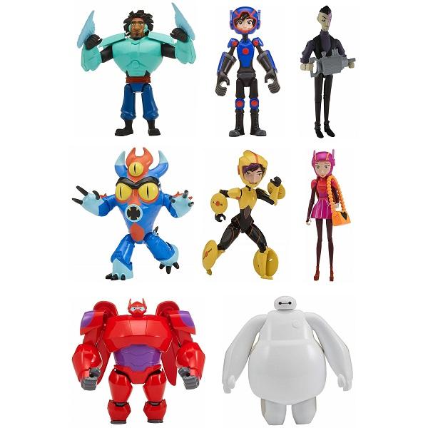 Купить Big Hero 6 The Series 41275 Биг Хиро 6 Микрофигурка 12 см (в ассортименте), Игровые наборы и фигурки для детей Спиннеры
