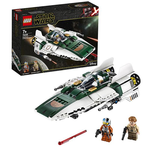 Купить LEGO Star Wars 75248 Конструктор ЛЕГО Звездные войны Звёздный истребитель Повстанцев типа А, Конструкторы LEGO