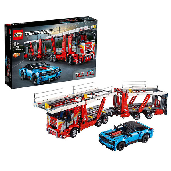 Купить LEGO Technic 42098 Конструктор ЛЕГО Техник Автовоз, Конструкторы LEGO