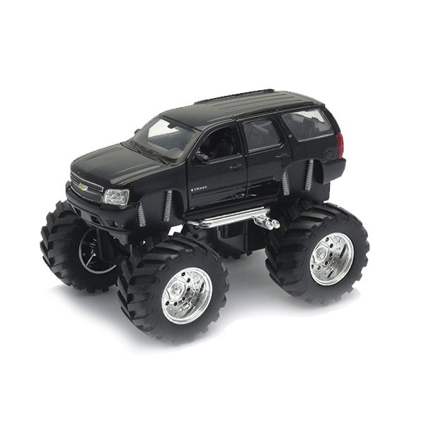 Купить Welly 47002 Велли Модель машины 1:34-39 Chevrolet Tahoe Big Wheel, Машинка Welly