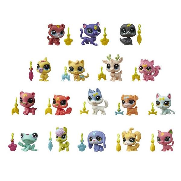 Купить Hasbro Littlest Pet Shop E7260 Литлс Пет Шоп Пет с предсказанием, Игровые наборы и фигурки для детей Hasbro Littlest Pet Shop