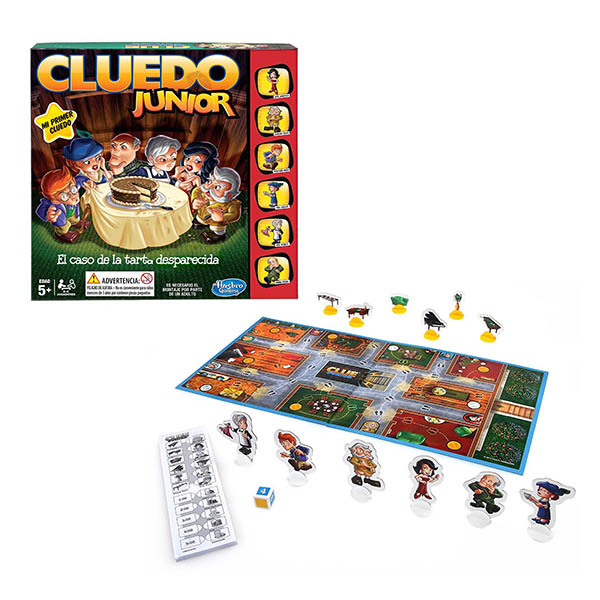 Купить Hasbro Other Games B0335 Настольная игра Моя первая игра - Клуэдо, Настольная игра Hasbro Other Games