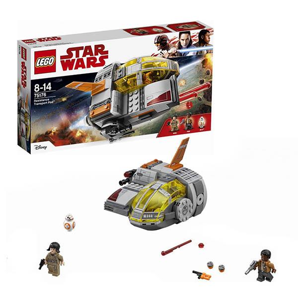 Купить LEGO Star Wars 75176 Конструктор ЛЕГО Звездные Войны Транспортный корабль Сопротивления, Конструктор LEGO