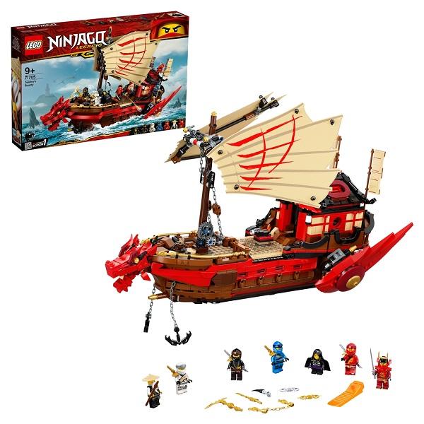 Конструкторы LEGO LEGO Ninjago 71705 Конструктор ЛЕГО Ниндзяго Летающий корабль Мастера Ву по цене 10 449