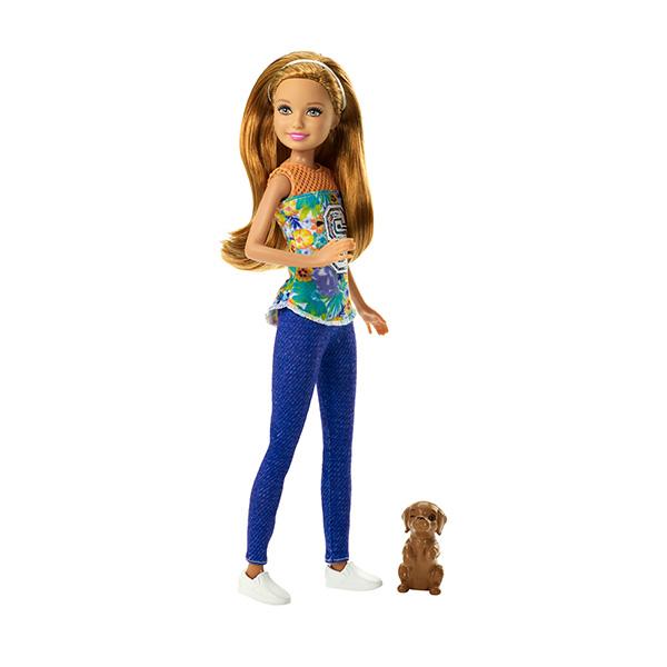 Mattel Barbie DMB28 Барби Сестра Barbie с питомцем, арт:144812 - Barbie, Куклы и аксессуары
