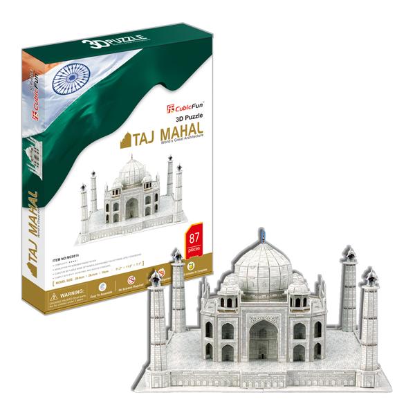 Купить Cubic Fun MC081h Кубик фан Тадж Махал (Индия), 3D пазлы Cubic Fun