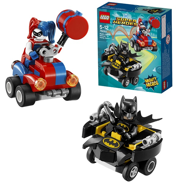 Lego Super Heroes Mighty Micros 76092 Конструктор Лего Супер Герои Бэтмен против Харли Квин - Конструкторы LEGO