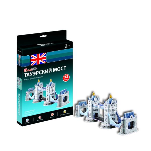 Купить Cubic Fun S3010 Кубик фан Тауэрский мост (Великобритания), 3D пазлы Cubic Fun