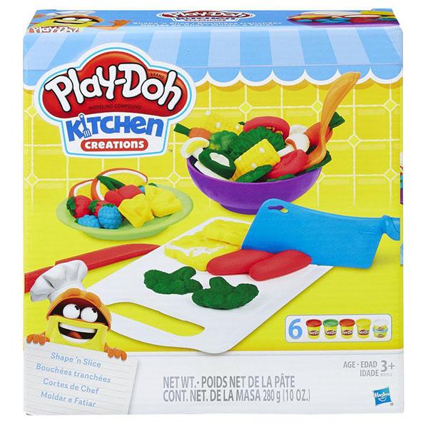 Купить Hasbro Play-Doh B9012 Игровой набор Приготовь и нарежь на дольки , Пластилин Hasbro Play-Doh