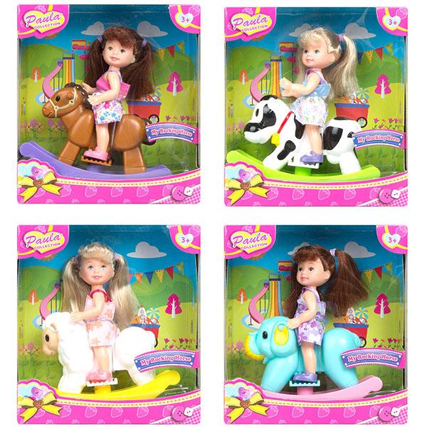 Купить Paula MC23010 Игровой набор На качалке (в ассортименте), Игровые наборы и фигурки для детей Paula