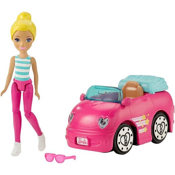 Купить Mattel Barbie FHV77 Барби Кукла В движении Автомобиль и кукла, Куклы и пупсы Mattel Barbie