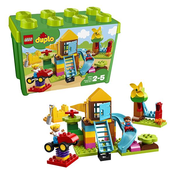 LEGO DUPLO 10864 Конструктор ЛЕГО ДУПЛО Большая игровая площадка, Конструкторы LEGO  - купить со скидкой