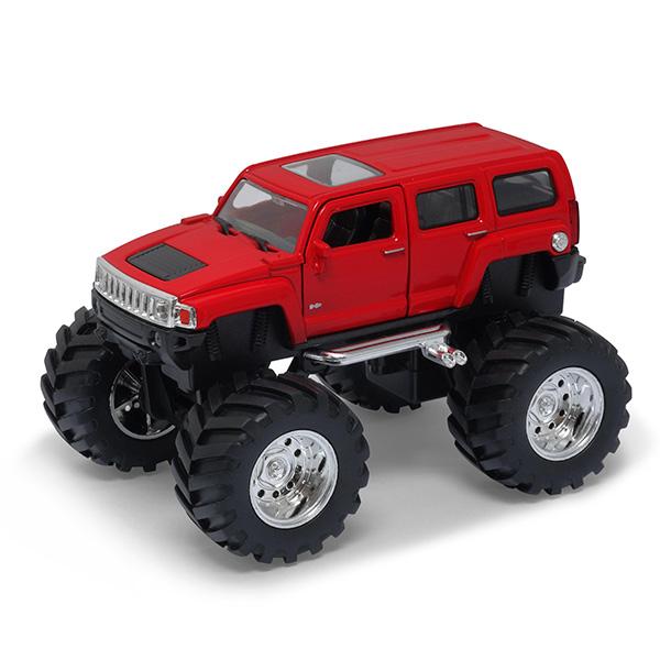 Купить Welly 47001 Велли Модель машины 1:34-39 Hummer H3 Big Wheel, Машинка Welly