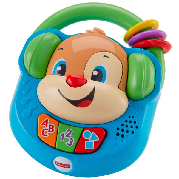 Купить Mattel Fisher-Price FTN20 Фишер Прайс Плеер Ученого Щенка, Развивающие игрушки для малышей Mattel Fisher-Price