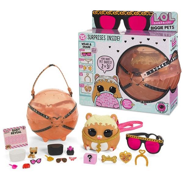 Купить L.O.L. Surprise 552253 Большой питомец Хомяк, Игровые наборы и фигурки для детей LOL