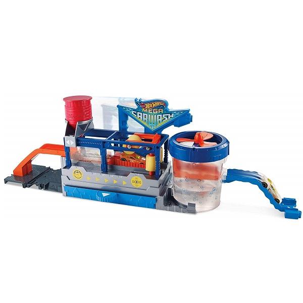 Купить Mattel Hot Wheels FTB66 Хот Вилс Сити МегаАвтомойка, Игровые наборы и фигурки для детей Mattel Hot Wheels