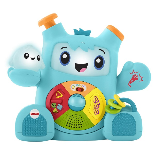 Купить Mattel Fisher-Price FXD10 Фишер Прайс Смейся и учись Роккит и Спарки, Развивающие игрушки для малышей Mattel Fisher-Price