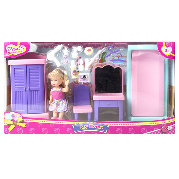Купить Paula MC23110a Игровой набор Мой дом спальня, Игровые наборы Paula