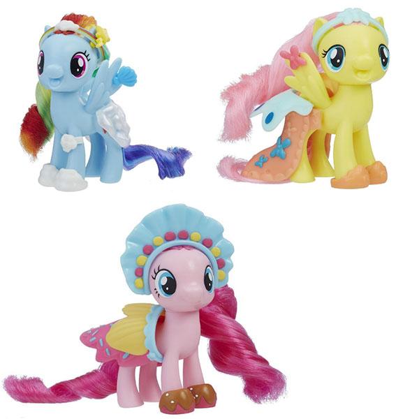 Купить Hasbro My Little Pony E0189 ПОНИ с Волшебными Нарядами, Игровые наборы и фигурки для детей Hasbro My Little Pony