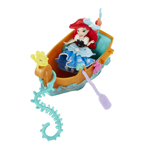 Hasbro Disney Princess B5338 Набор для игры в воде: маленькая Принцесса и лодка (в ассортименте)