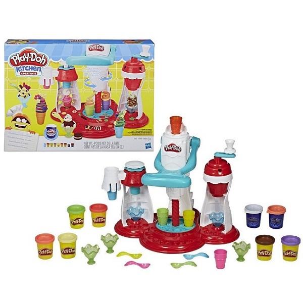 Купить Hasbro Play-Doh E1935 Игровой набор Мир Мороженного, Пластилин Hasbro Play-Doh