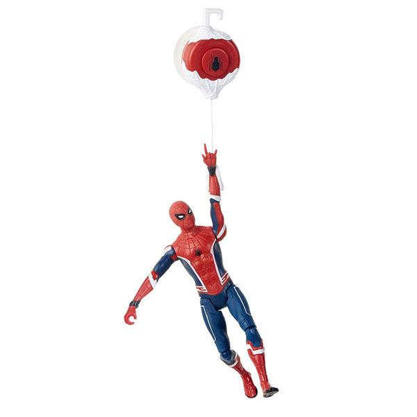 Купить Hasbro Spider-Man E3547/E4116 Фигурка Человек-Паук 15 см делюкс Гусеничный трактор, Минифигурка Hasbro Spider-Man