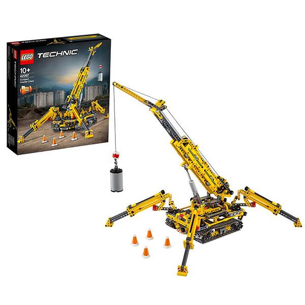 Купить LEGO Technic 42097 Конструктор ЛЕГО Техник Мостовой кран, Конструкторы LEGO
