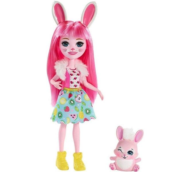 Купить Mattel Enchantimals FXM73 Кукла с питомцем Кролик Бри, Куклы и пупсы Mattel Enchantimals