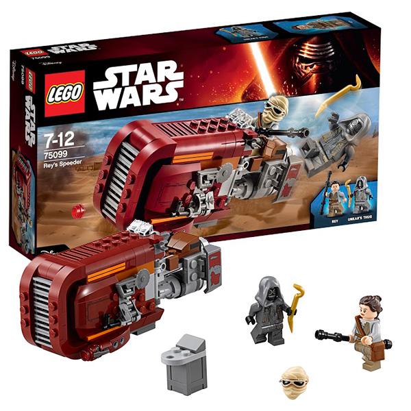Купить Lego Star Wars 75099 Лего Звездные Войны Спидер Рей, Конструктор LEGO