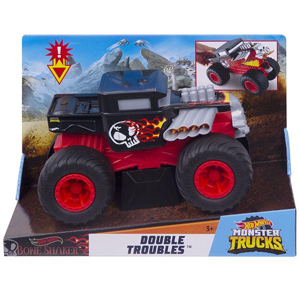 Купить Mattel Hot Wheels GCG07 Хот Вилс Монстр трак Трансформеры BONE SHAKER, Игрушечные машинки и техника Mattel Hot Wheels