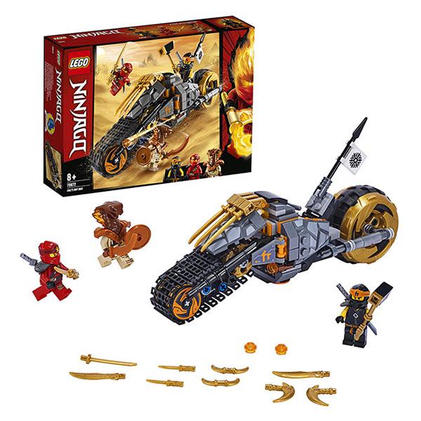 Конструкторы LEGO Ninjago 70672 Конструктор ЛЕГО Ниндзяго Раллийный мотоцикл Коула фото