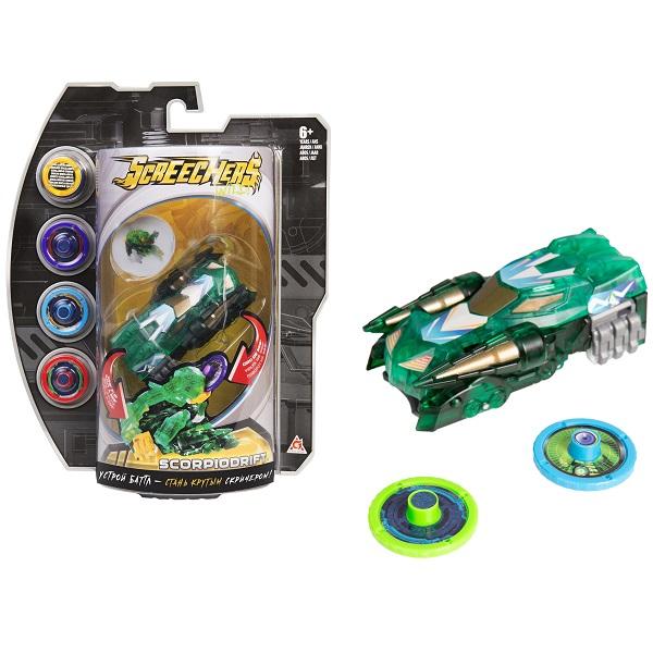 Купить Screechers Wild 35895 Дикие Скричеры Машинка-трансформер Скорпиодрифт л3, Игровые наборы и фигурки для детей Screechers Wild
