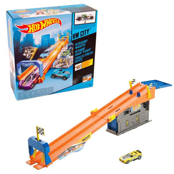 Игровые наборы Mattel Hot Wheels - Автотреки и машинки Hot Wheels, артикул:149992