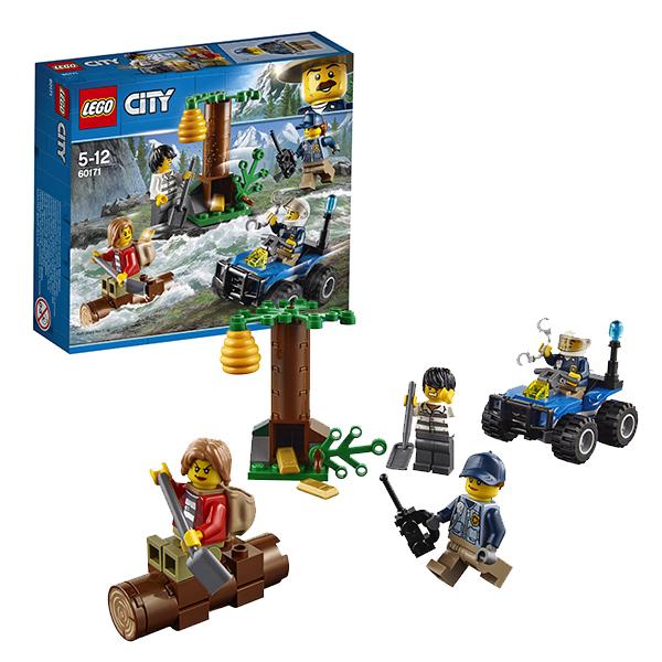 Lego City 60171 Лего Город Убежище в горах, Конструкторы LEGO  - купить со скидкой