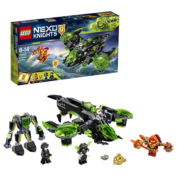 Lego Nexo Knights 72003 Конструктор Лего Нексо Неистовый бомбардировщик, арт:152463 - Nexo Knight, Конструкторы LEGO