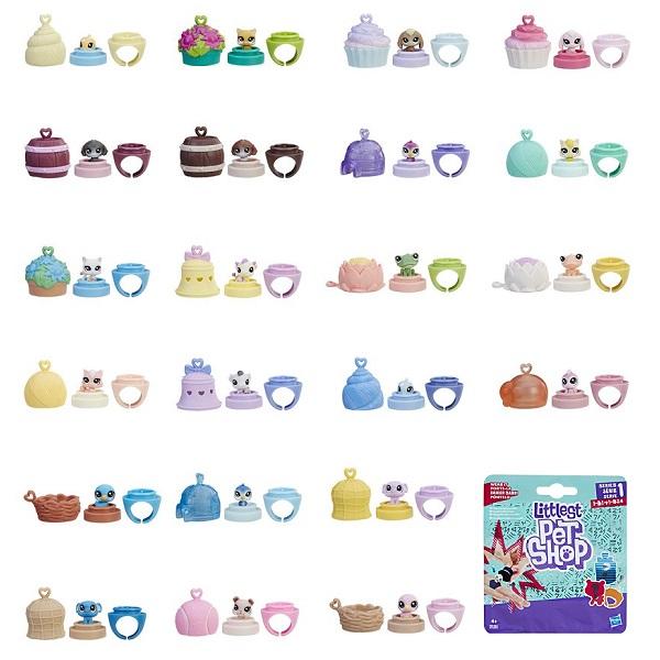 Hasbro Littlest Pet Shop B9386 Пет в закрытой упаковке, арт:150857 - Мини наборы, Игровые наборы