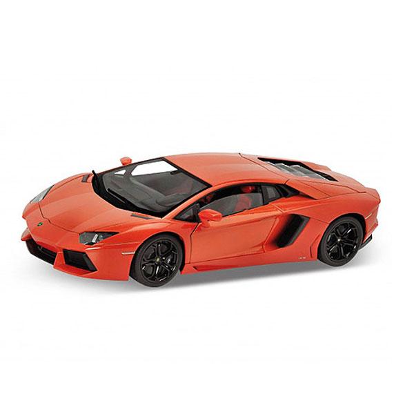 Машинка Welly 18041 Велли Модель машины 1:18 Lamborghini Aventador