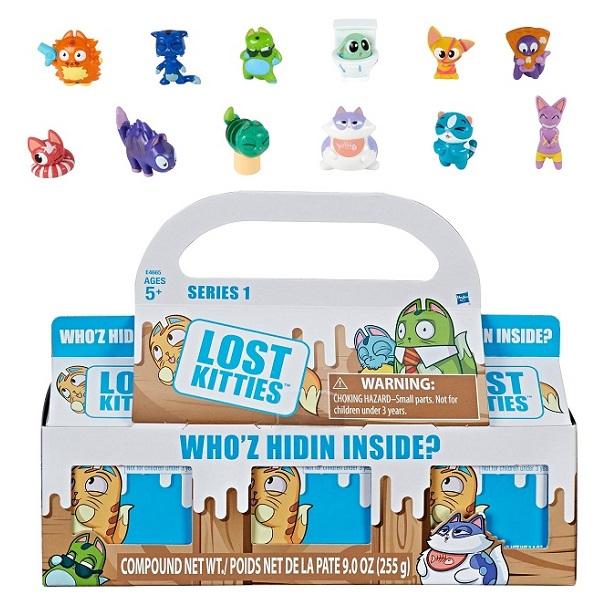 Игровые наборы и фигурки для детей Hasbro Lost Kitties