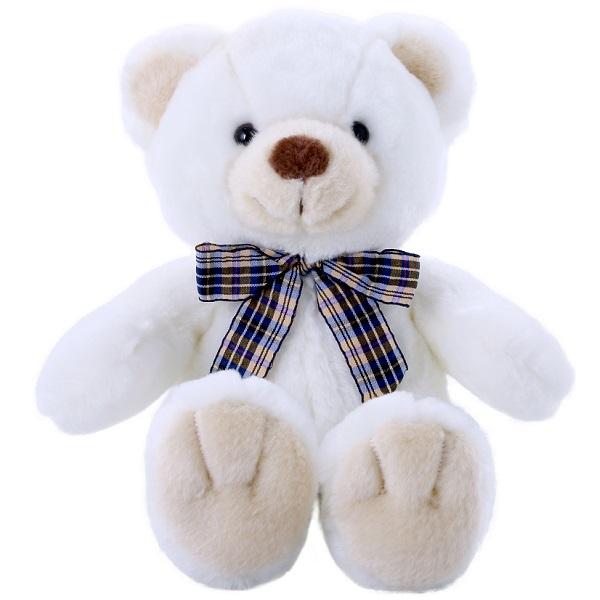 Купить SOFTOY C1709324-3 Медведь белоснежный 32 см, Мягкие игрушки SOFTOY