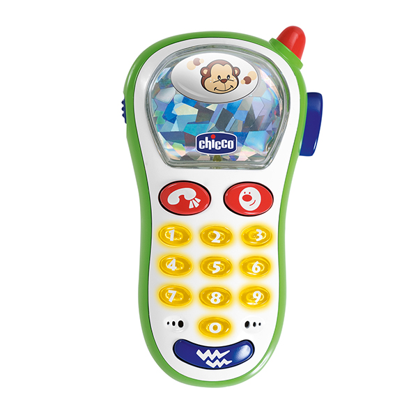 Купить CHICCO TOYS 60067A Игрушка телефон музыкальный с фото с 6 месяцев, Развивающие игрушки для малышей CHICCO TOYS