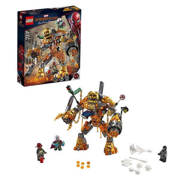 Купить LEGO Super Heroes 76128 Конструктор ЛЕГО Супер Герои Бой с Расплавленным Человеком, Конструкторы LEGO