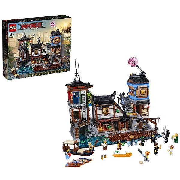 Lego Ninjago 70657 Конструктор Лего Ниндзяго Порт Ниндзяго Сити, арт:154177 - Ниндзяго, Конструкторы LEGO